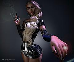 you may kissa tha ring ... (XITA KIRA) Tags: ring xita kiss latex hg hourglas doux hair sl second life catwa
