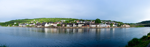 Germany. Wellen on Mosel