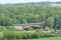50007 Victoria Bridge 19/05/18 (yamdood91) Tags: train uk brblue 2018 gala diesel railway rail severnvalley arley victoriabridge 50007 class50