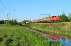 DB Cargo 6417 @ Herfte Aansluiting (Sicco Dierdorp) Tags: db dbc cargo serie6400 ketelwagen keteltrein unitcargo onnen kijfhoek meppel zwolle herfte aansluiting