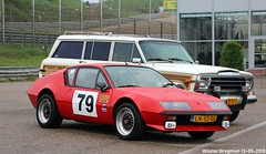 Alpine Renault A310 V6 1979 (XBXG) Tags: ln52gg alpine renault a310 v6 1979 coupé coupe red rood rouge circuitpark zandvoort circuit nederland holland netherlands paysbas youngtimer old classic french car auto automobile voiture ancienne française vehicle outdoor
