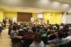 Assinatura de um termo de compromisso entre a Itaipu Binacional e o Instituto Policlínica PB, em Pato Branco.