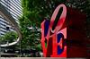 LOVE sculpture in Shinjuku. (Bernard Spragg) Tags: lovesculptureinshinjuku tokyo art red publicart street ravel soe