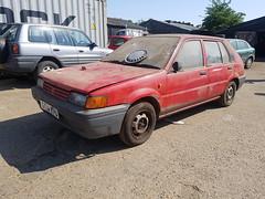 1990 Nissan Sunny Premium 1.4 L (Mr Gav!) Tags: 1990 nissan sunny premium 14 l n13