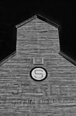 44,000 Bushels   Grain Elevator (1932) (Mister Day) Tags: grain elevator alberta bnw architecture building