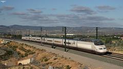 100.012 (lagunadani) Tags: ave renfe ferrocarril train 100 100012 almansa albacete duplex tgv atlantique highspeed lav alicante alstom spain sonya7
