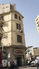 Old European Classical building in Downtown Cairo (Kodak Agfa) Tags: cairo egypt downtown downtowncairo buildings building architecture mideast middleeast africa northafrica mena مصر القاهرة وسطالبلد thisisegypt thisiscairo