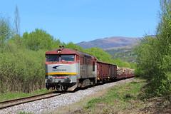 751 057-1 (MarSt44) Tags: zssk cargo mn berta bardotka zamracena kolej słowacja slovak republic train railway diesel 751 0571 057 7510571 751057 power roznava