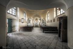 Funeral chapel (Michal Seidl) Tags: abandoned church verlassene kirch opuštěný kostel hdr sacral architecture canon czech bohemia sudetenland sudety urbex
