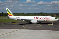 Ethiopian Airlines B777-F60 ET-ARI (wapo84) Tags: eblg lgg b777 etari ethiopianairlines