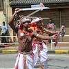 Sword Dancers (1X7A4778b) (Dennis Candy) Tags: srilanka ceylon serendip kandy esala day perahera parade procession pageant religion buddhism street tradition culture heritage costume dancer sword shield ceremonial guard man boy youth