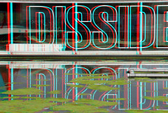 Het Nieuwe Instituut Rotterdam 3D (wim hoppenbrouwers) Tags: het nieuwe instituut rotterdam 3d anaglyph stereo redcyan hetnieuweinstituut rotterdam3d hni water reflection