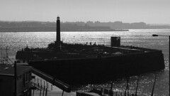 Margate Harbour Arm Spring Bank Holiday 2018 (Tony Withers photography) Tags: margate harbour arm kent bank holiday seaside thanet beach bw blackandwhite sun