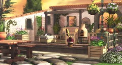 Memories Of Tuscany (kyreneglendevon) Tags: circa serenity style little branch hpmd happy mood plastik vaelienn hans inshan ariskea chelle capra second life secondlife sl blog blogger secondlifeblogger landscape build event decorate virtual world 3d