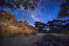 Kiln Stars (Stuart Templeton) Tags: travel australia canon star stars startrails trails victoria maldon night kiln country
