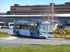 First Cymru 67091 (Welsh Bus 18) Tags: first cymru dennis dart slf 5 adl enviro200mmc eurovi 67091 yx65rhy swansea