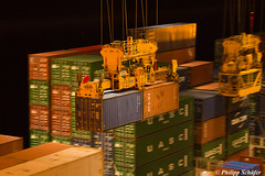 "Containership ""CMA CGM Alexander von Humboldt"" (Philipps Bahnwelt) Tags: cmacgm container containership ship vessel sunset whale dolfin hamburg rotterdam lehavre marsaxlokks gantry crane sea stormy night light awesome giant bunkering working hard large beautiful amazing colour magic mooring port busy travelling ride littlewalk longjourney journey sail shipping marine maritime nautic nautical onbord anchor water blue orange landscape tug seafarers sealife boxship freighter navigation cmacgmalexandervonhumboldt bridge crew smile moon stars sun sky art nature industrial dream dreamscape canon eos5dmarkiii canoneos5dmarkiii"