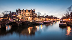 P1010214-2 (rpajrpaj) Tags: amsterdam bluehour thebluehour city canals