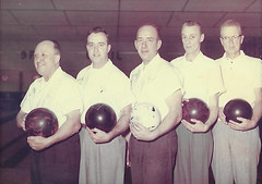 Claire Mfg. Co. bowling team (chooch95) Tags: clairesprayway bowling bowlingleague bowlingteam arenabowlingalley arenalanes bowlingalley