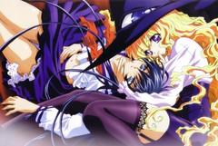 Yami to Boushi to Hon no Tabibito (anime_news_official) Tags: ecchi fantasy magia