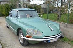 Citroën DS 23 (Monde-Auto Passion Photos) Tags: vehicule auto automobile citroën ds berline vert green rare rareté rassemblement evenement ancienne classique france courtenay