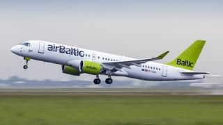 AMS / YL-CSD / Bombardier BD-500-1A11 CS300 Air Baltic