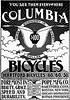 Columbia Bicycles 1880s (letterlust) Tags: letterlust bicyclehistory reclame reclamé aankondiging publiciteit publicity publicité advertentie annonce anzeige werbung advertising advertisement 1880s theeighties dejarentachtig dieachtzigerjahre die80erjahre