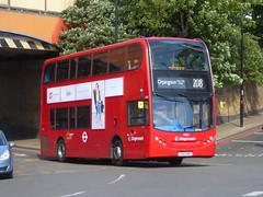 SLN 10153 - LX12DHE - LEWISHAM STATION - FRI 11TH MAY 2018 (Bexleybus) Tags: stagecoach london lewisham station dlr train shopping centre se13 adl dennis enviro 400 tfl route 208 lx12dhe 10153
