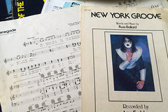 Heavy Paper (robert_rex_jackson) Tags: sheetmusic acefrehley kiss newyorkgroove styx renegade