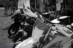 89 (Nicky Highlander Photography) Tags: barbados barbadian caribbean carshow motorcycle bike motorbike ride motorcyclists people observers vehicles transport photoessay photoshoot daily life lifestyle outdoor grass content saintthomas photojournalism pasture countryside 89 number blackandwhite monochrome tones