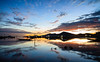 Sunrise on the laguna (Asian Hideaways Photography) Tags: sunrise morning reflection longexposure sea seascape vietnam landscape lagoon clouds boats tam giang