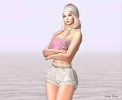 Janiah (Sannita_Cortes) Tags: moz elikatira gift glamaffair ikon lelutka maitreya mozdesigns petitchat thechapterfour wellmade anklet bracelet choker fashion necklace pantoutfits shorts tops secondlife sl styles virtualworld virtual virtualfashion female