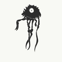 Polyp (baobab1982) Tags: character polyp monster sketch creature