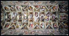 Sistine Chapel (albireo 2006) Tags: rome roma cappellasistina sistinechapel michelangelo fresco vault vatican