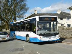 Kirkby Lonsdale BT63UUV 180405 Kirkby Lonsdale (maljoe) Tags: kirkbylonsdale kirkbylonsdalecoachhire travellers travellerschoice