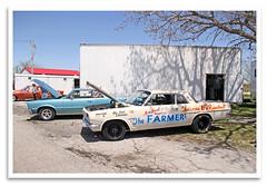 Farmer (bogray) Tags: racecar hotrod dragstrip arniebeswick thefarmer littlebsrunabout 63pontiacsuperduty tempest funnycarchaos smokinmokan mokandragway since1962 redlineshirtclub asbury mo