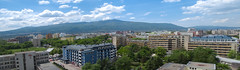 Panoramic View of Sofia City (svetoslavradkov) Tags: city panoramic skyline cityscape view travel architecture building sky panorama street day skyscraper capital downtown culture landmark urban vacation district scene tourism landscape business park horizontal town destination distrito metropolis modern national aerial water architectural
