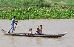 Boat people - the Mekong River, Cambodia. (One more shot Rog) Tags: mekong river cambodia mekongriver stilts stiltedhouses homes boat boats asia southeastasia