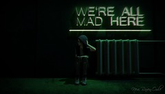 Welcome To Wonderland, Alice (Nevi Raven-Owle) Tags: nevi raven owle maitreya catwa magy vtech femboi bentbox bento fantasy nomatch ravenous studio poses sitting crouched wonderland darkness madness