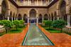 _DSC4340w (pacogranada) Tags: alcazar sevilla andalucia andalusia españa spain rain lluvia patio