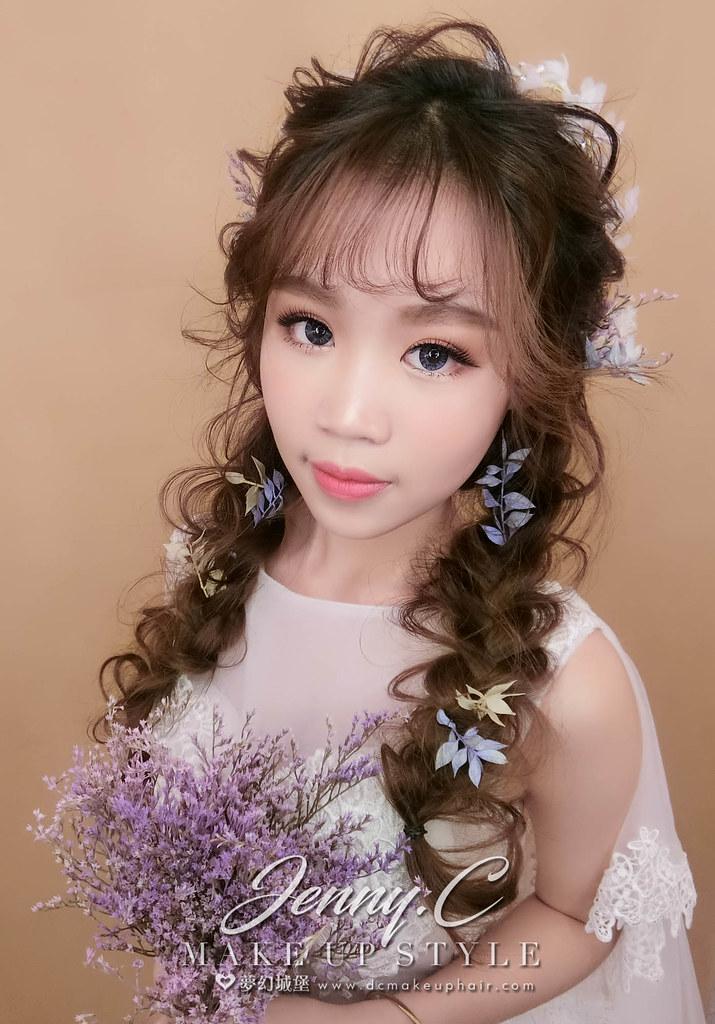 【新秘蓁妮】新娘造型創作 / 日系甜美風格