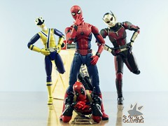 Shake It Off (Cool Ranger by Gui Marques) Tags: coolranger spiderman deadpool ant man shake it off taylor swift auxiliary dance team toys toyphotography photography actionfigures bonequinhos nerd geek