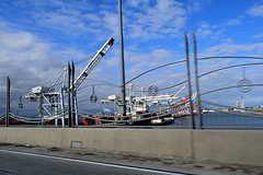 DSC_5704-61 (jjldickinson) Tags: nikond3300 103d3300 nikon1855mmf3556gvriiafsdxnikkor promaster52mmdigitalhdprotectionfilter freeway terminalislandfreeway ca47 ca103 longbeach portoflongbeach polb harbor longbeachharbor shippingcontainer container ship containership crane bridge