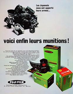 Fuji film advertisement.