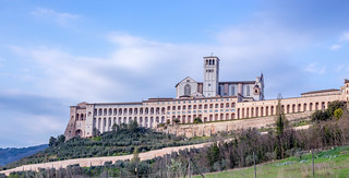 View of the Basilica of Saint Francis of Assisi