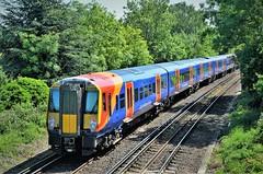 458514 (stavioni) Tags: class458 swt swr south west western trains railway rail emu electric multiple unit