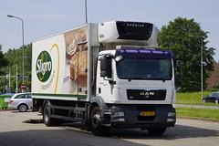 MAN TGM 18.250 van Nabuurs 485 met kenteken BX-FJ-50 in Wittem 18-05-2018 (marcelwijers) Tags: man tgm 18250 van nabuurs 485 met kenteken bxfj50 wittem 18052018 truck trucks lkw vrachtwagen vrachtauto sligro carrier nederland niederlande te netherlands pays bas camion