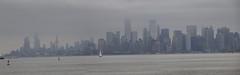 Panorama of Lower Manhattan, New York City from Staten Island Ferry (iainh124a) Tags: iainh124a nyc ny bigapple manhattan sony sonycybershot dschx90 dschs90v cybershot dx90 dx90v