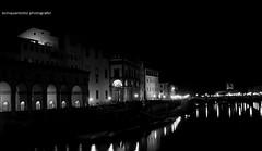 LungArno (Ecinquantotto ( + 1.450.000 views !!! GRAZIE) Tags: arno firenze art arte architettura architecture acqua bn bw blackwhite bianconero italia italy italybn toscana