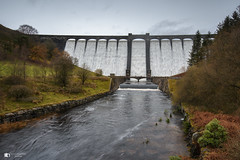 Claerwen Elan Valley Dam (technodean2000) Tags: ©technodean2000 lr ps photoshop nik collection nikon technodean2000 flickr photographer d810 wwwflickrcomphotostechnodean2000 www500pxcomtechnodean2000 goodwood festival speed gos 2017 technode claerwen elan valley dam winter mid wales sunset glow snow train grass road tree mountain sky